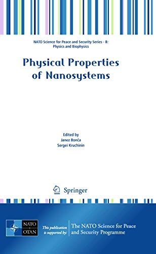 Physical Properties of Nanosystems: Janez Bonca