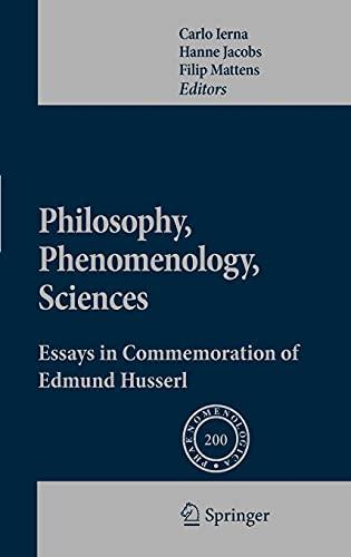 Philosophy, Phenomenology, Sciences: Filip Mattens