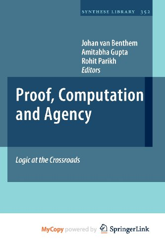 9789400700819: Proof, Computation and Agency