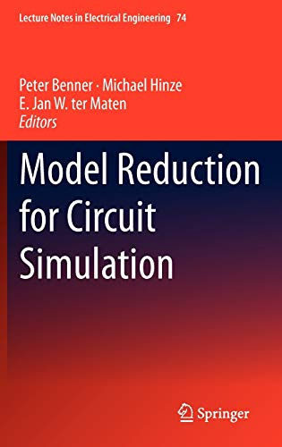 9789400700888: Model Reduction for Circuit Simulation (Lecture Notes in Electrical Engineering)