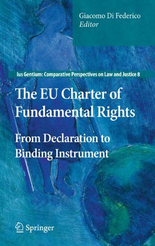 9789400701557: The EU Charter of Fundamental Rights: From Declaration to Binding Instrument (Ius Gentium: Comparative Perspectives on Law and Justice)