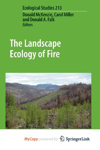 9789400703025: The Landscape Ecology of Fire