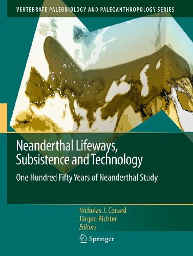 9789400704145: Neanderthal Lifeways, Subsistence and Technology: One Hundred and Fifty Years of Neanderthal Study