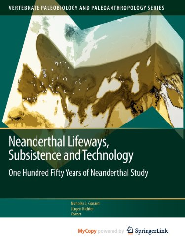 9789400704169: Neanderthal Lifeways, Subsistence and Technology