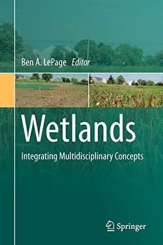 9789400705500: Wetlands: Integrating Multidisciplinary Concepts