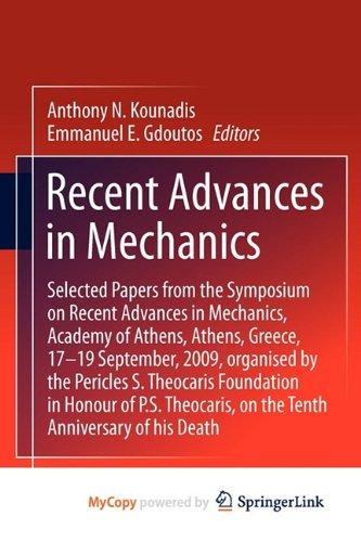 9789400705586: Recent Advances in Mechanics