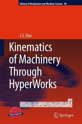 9789400711556: Kinematics of Machinery Through HyperWorks (History of Mechanism and Machine Science)