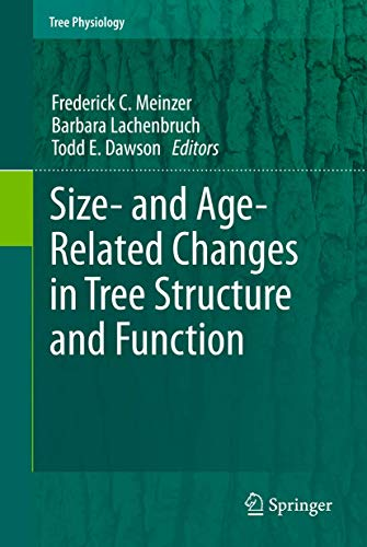 Size- and Age-related Changes in Tree Structure and Function (Hardback)