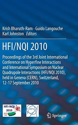 HFI / NQI 2010: Krish Bharuth-Ram