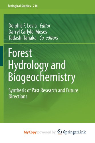 9789400713642: Forest Hydrology and Biogeochemistry: Synthesis of Past Research and Future Directions