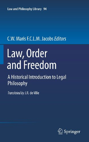 9789400714564: Law, Order and Freedom: A Historical Introduction to Legal Philosophy (Law and Philosophy Library)