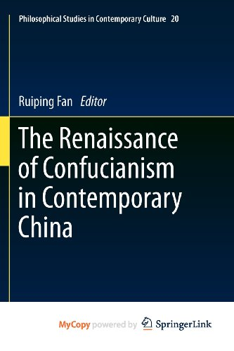 9789400715431: The Renaissance of Confucianism in Contemporary China
