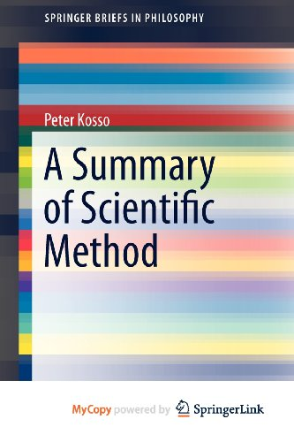 9789400716155: A Summary of Scientific Method