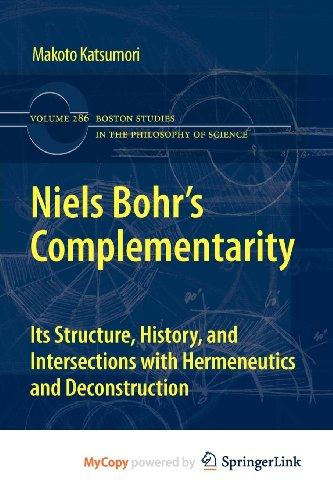 9789400717497: Niels Bohr's Complementarity