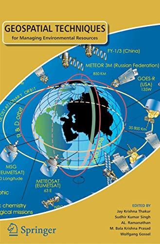 Geospatial Techniques For Managing Environmental Resources: Singh, Sudhir Kumar
