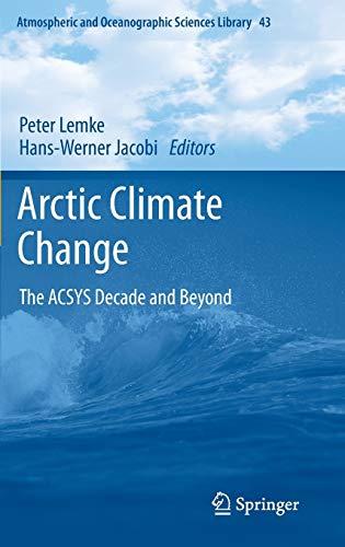 Arctic Climate Change: Peter Lemke