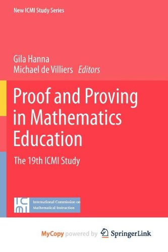 9789400721302: Proof and Proving in Mathematics Education: The 19th ICMI Study