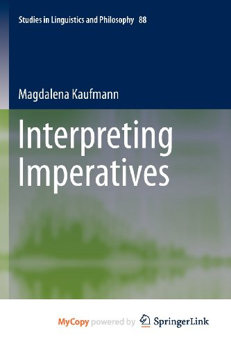 9789400722705: Interpreting Imperatives