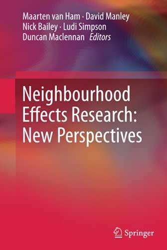 9789400723085: Neighbourhood Effects Research: New Perspectives