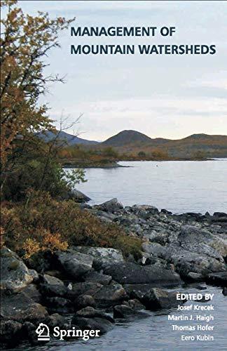 Management of Mountain Watersheds: Krecek, Josef [Editor];