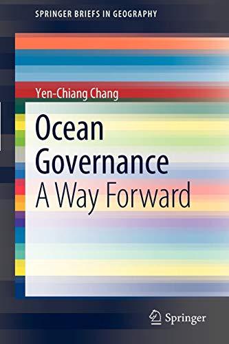9789400727618: Ocean Governance: A Way Forward (SpringerBriefs in Geography)