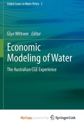 9789400728776: Economic Modeling of Water: The Australian CGE Experience