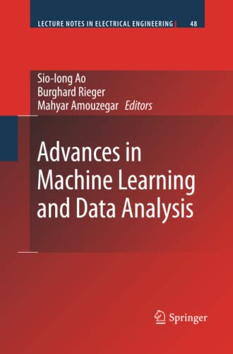 9789400730823: Advances in Machine Learning and Data Analysis (Lecture Notes in Electrical Engineering)