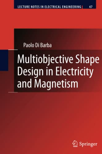 9789400731462: Multiobjective Shape Design in Electricity and Magnetism (Lecture Notes in Electrical Engineering)