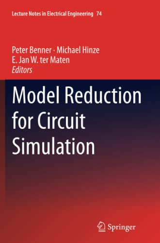 9789400732834: Model Reduction for Circuit Simulation (Lecture Notes in Electrical Engineering)