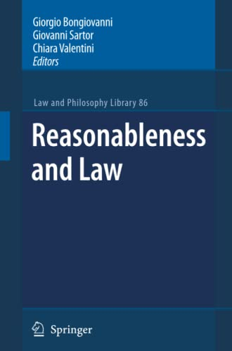 9789400736757: Reasonableness and Law (Law and Philosophy Library)