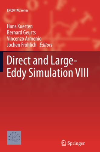 Direct and Large-Eddy Simulation VIII ERCOFTAC Series