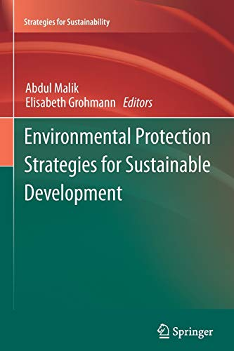 Environmental Protection Strategies for Sustainable Development (Paperback)
