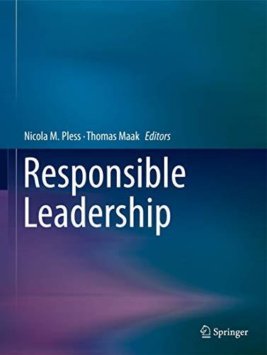 9789400739949: Responsible Leadership