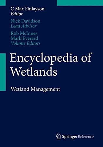 9789400740037: Encyclopedia of Wetlands: Volume II. Wetlands Management