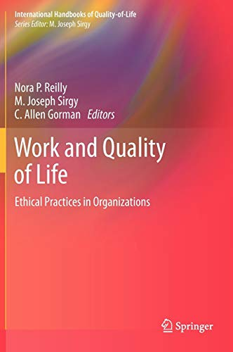 Work and Quality of Life: Nora P. Reilly
