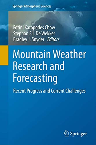 Mountain Weather Research and Forecasting (Hardback)