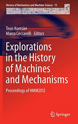 9789400741317: Explorations in the History of Machines and Mechanisms: Proceedings of HMM2012 (History of Mechanism and Machine Science)
