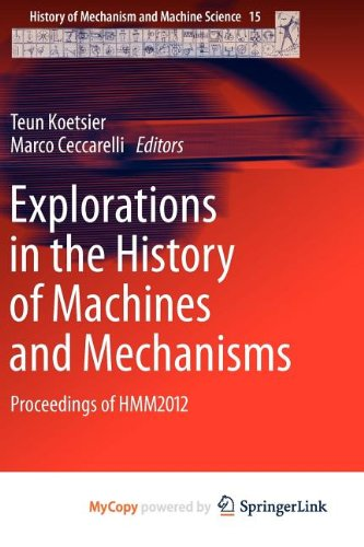 9789400741331: Explorations in the History of Machines and Mechanisms: Proceedings of HMM2012