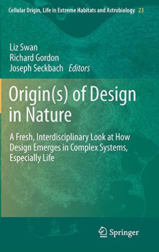 Origin(s) of Design in Nature: Liz Swan