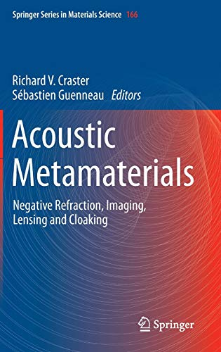 9789400748125: Acoustic Metamaterials: Negative Refraction, Imaging, Lensing and Cloaking (Springer Series in Materials Science)