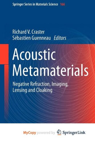 9789400748149: Acoustic Metamaterials: Negative Refraction, Imaging, Lensing and Cloaking