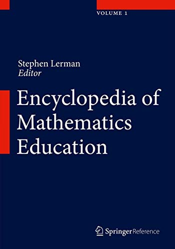 9789400749771: Encyclopedia of Mathematics Education