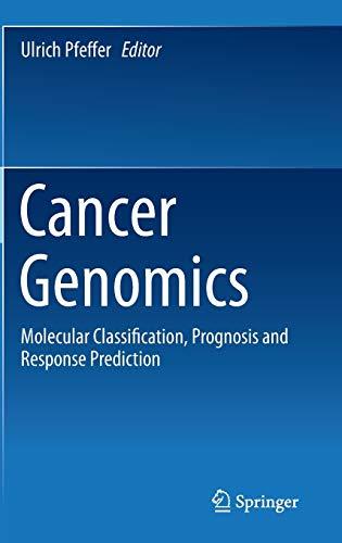Cancer Genomics: Ulrich Pfeffer