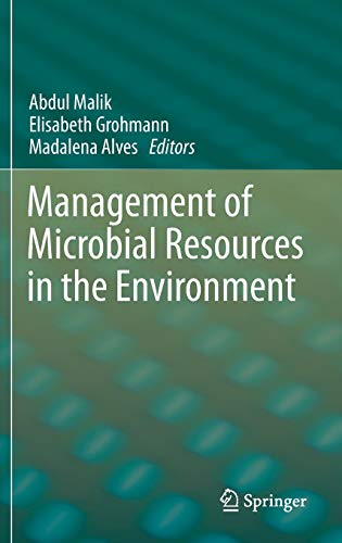 Management of Microbial Resources in the Environment: Madalena Alves