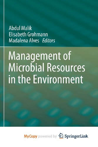 9789400759329: Management of Microbial Resources in the Environment