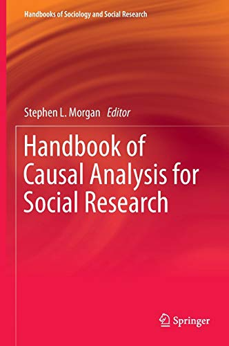 9789400760936: Handbook of Causal Analysis for Social Research (Handbooks of Sociology and Social Research)
