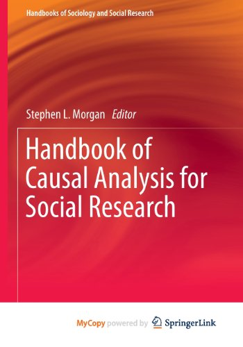 9789400760950: Handbook of Causal Analysis for Social Research