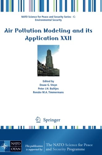 9789400760967: Air Pollution Modeling and its Application XXII (NATO Science for Peace and Security Series C: Environmental Security)