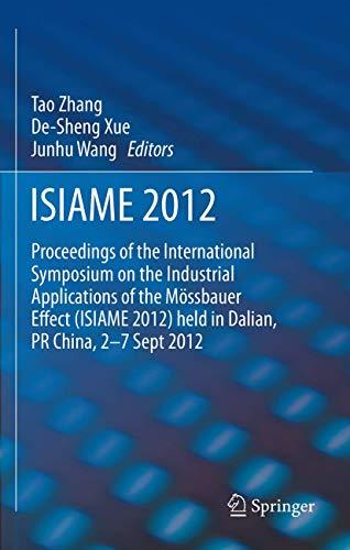 ISIAME 2012: Tao Zhang