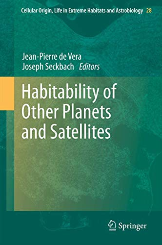 Habitability of Other Planets and Satellites: Jean-Pierre de Vera